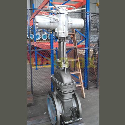 Rising stem ball valve